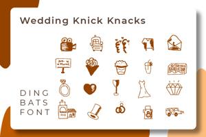 wedding knick knacks