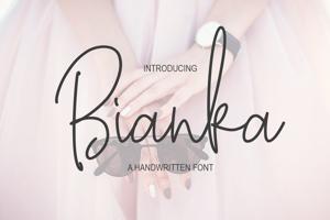 Bianka Script
