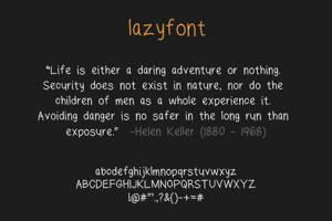 lazyfont