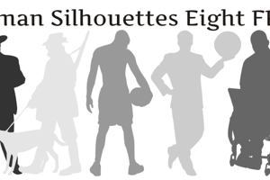 Human Silhouettes Free Eight