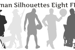Human Silhouettes Free Eight