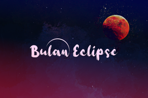 b Bulan Eclipse