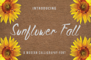 Sunflower Fall