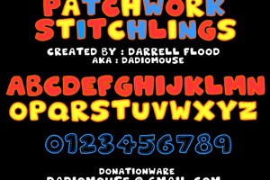 Patchwork Stitchlings