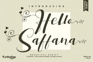 Hello Saffana