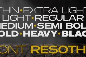 Resotho Extralight