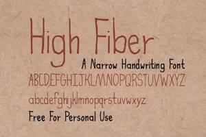 High Fiber
