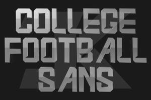 College Football Sans