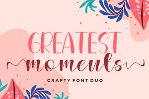 Greatest Moments Sans