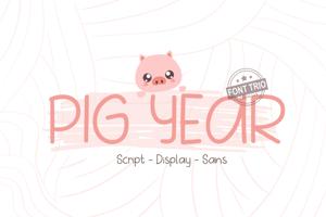 Pig Year Sans