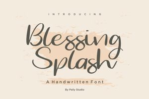 Blessing Splash