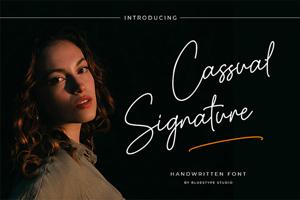Cassual Signature