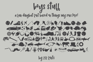 212 Boys Stuff