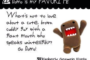 Domo is my FAVORITE