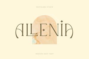 Allenia Serif