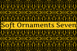 Soft Ornaments Seven