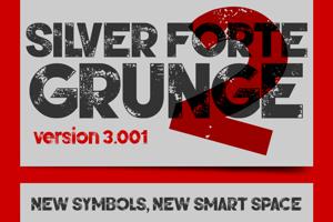 Silver Forte Grunge