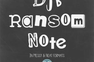 DJB Ransom Note