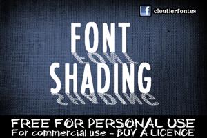 CF Font Shading