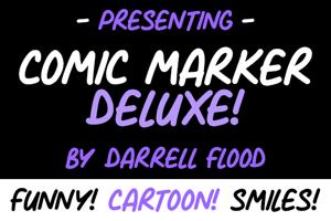 Comic Marker Deluxe