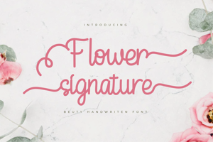 Flower Signature