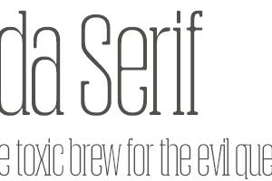 Obcecada Serif