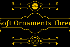 Soft Ornaments Three