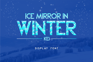 Ice Mirror in Winter Kei