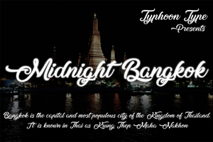 Midnight Bangkok