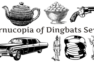 Cornucopia of Dingbats Seven