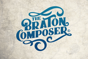 Braton Composer Stamp Rough