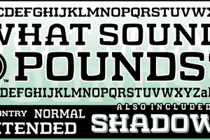 WHAT SOUND POUNDS?