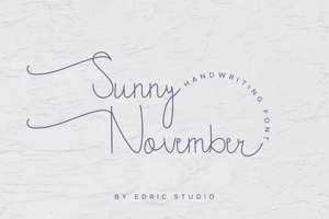 Sunny November