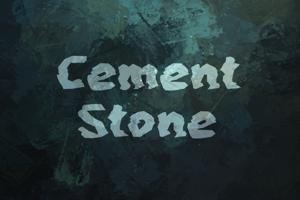 c Cement Stone