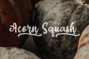 a Acorn Squash