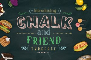 Chalk and Friend two