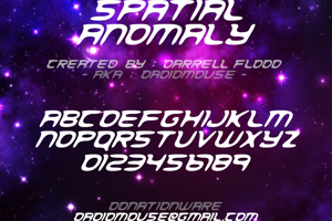 Spacial Anomoly
