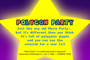Polygon Party