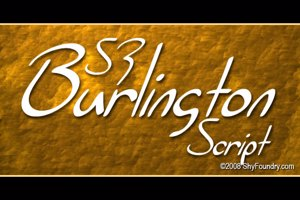 SF Burlington Script