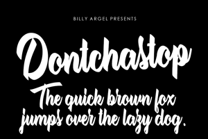 Dontchastop