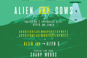 aliens and cows