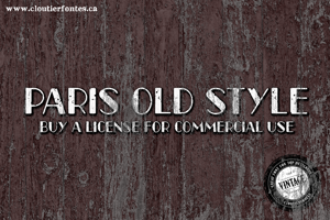 CF Paris Old Style