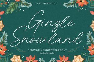 Gingle Snowland