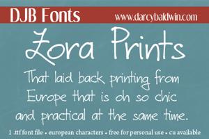 DJB Zora Prints