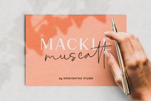 Mackle Script