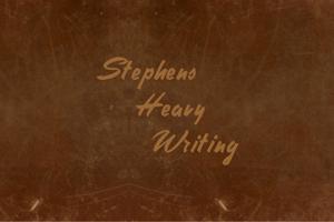 Stephens Heavy Writing