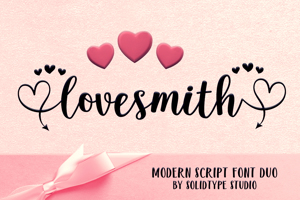 Lovesmith Font Duo
