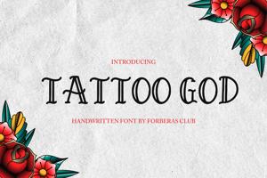 tattoo god