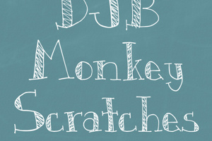 DJB Monkey Scratches