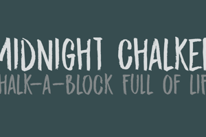 DK Midnight Chalker